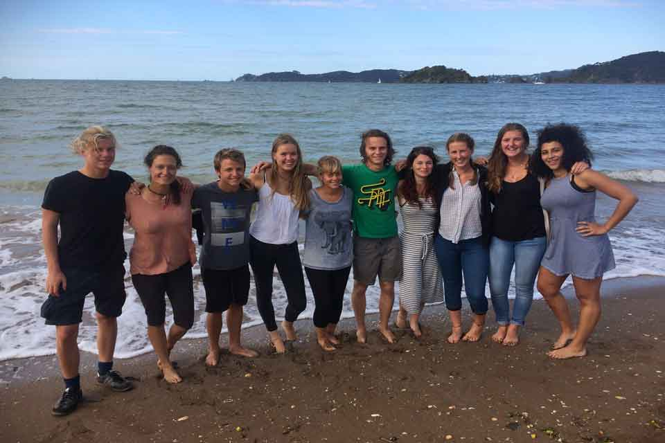 Conservation Volunteers at Bay of Islands